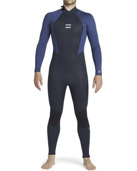 3/2mm Intruder - Back Zip Wetsuit for Men  043M19BIP0