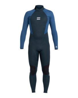 Intruder 4/3mm Intrdr Bz GBS - Back Zip Wetsuit for Men  044M18BIP0