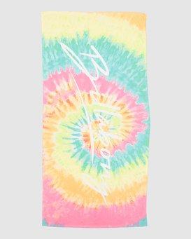 TIEDYE LOVE TOWEL 6 PACK  5604722