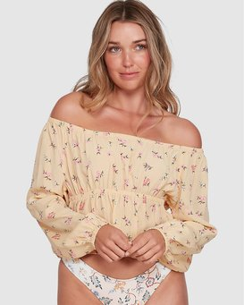 PRETTY MOON OFF SHOULDER TOP  6504138