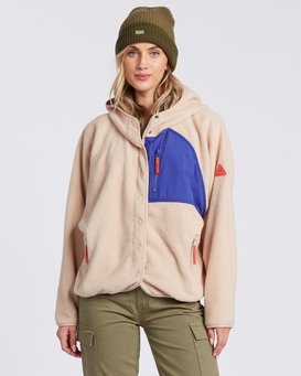 TOFINO SNAP FRONT HOODIE  6504211