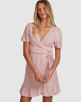 LAVENDER SKY WRAP DRESS  6508488