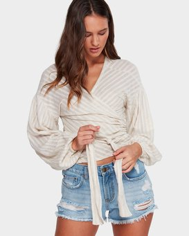HAZY STRIPE TOP  6592108