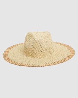 STITCHED STRAW HAT  6613319