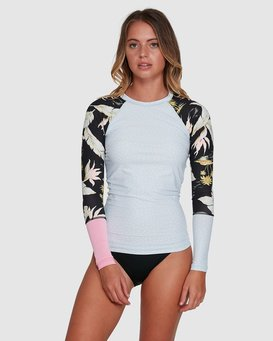 MAUI BABE LONG SLEEVE SUNSHIRT  6704003