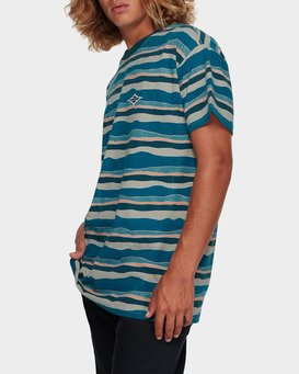 TEAR STRIPE TEE  9591018