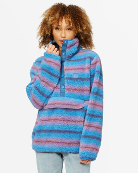 Switchback - Pullover Sherpa Fleece for Women  A3WA02BIW0