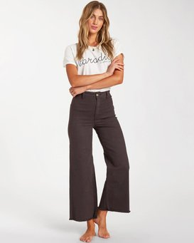 Free Fall - Flare Leg Trousers for Women  ABJNP00126