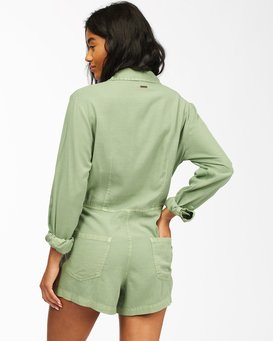 Gigi - Long Sleeve Playsuit for Women  ABJWD00135