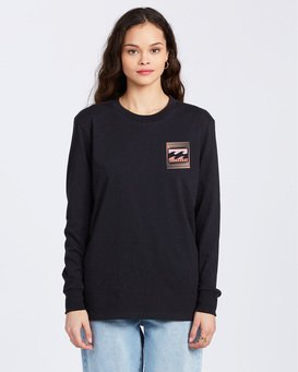 Optical Illusion - Long Sleeve T-Shirt for Women  ABJZT00104