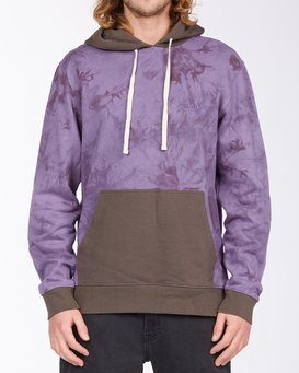 WAVE WASHED BLOCKED PULLOVER  ABYFT00104