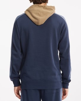 WAVE WASHED BLOCKED PULLOVER  ABYFT00155