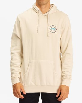 WAVE WASHED PULLOVER ROTOR ARC  ABYFT00240