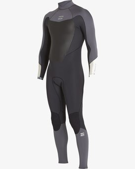 3/2 Absolute-Comp Back Zip Wetsuits  F43M22BIF7