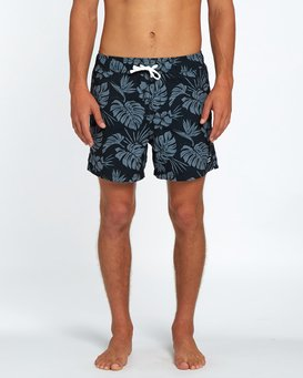 "All Day Floral Laybacks 16"" Boardshort  H1LB14BIP8"