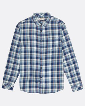 Fremont Flannel Shirt  H1SH11BIP8