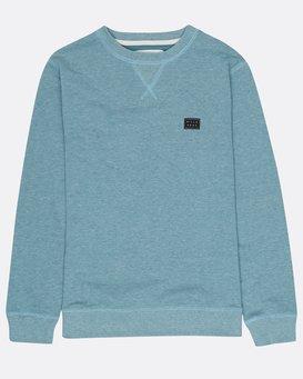 Boys All Day Crew Sweatshirt  H2FL01BIP8