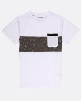Boys Tribong Crew Jersey T-Shirt  H2JE03BIP8