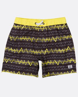 "Boys Sundays 14"" Laybacks Boardshort  H2LB06BIP8"