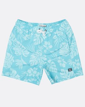 "Boys All Day S Floral 14"" Laybacks Boardshort  H2LB07BIP8"