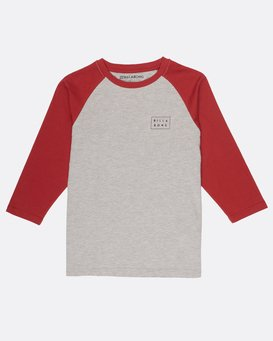 Boys Die Cut Long Sleeve T-Shirt  H2LS01BIP8