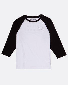 Boys Die Cut Long Sleeve T-Shirt  H2LS01BIP8
