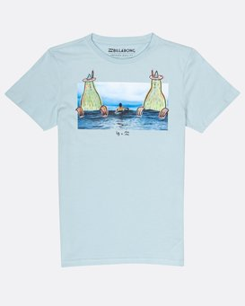 Boys Twin Peak T-Shirt  H2SS08BIP8
