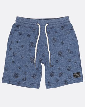 Boys Scribble Fleece Walkshort  H2WK10BIP8