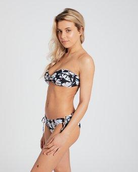 Sol Searcher Twist Bandeau Bikini Top  H3ST03BIP8