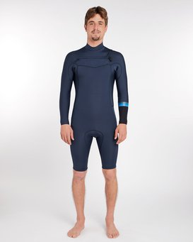 2/2 Revolution Gbs Chest Zip Long Sleeve Springsuit  H42M20BIP8