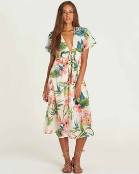 Rolling Seas Midi Dress  J3DR05BIS8