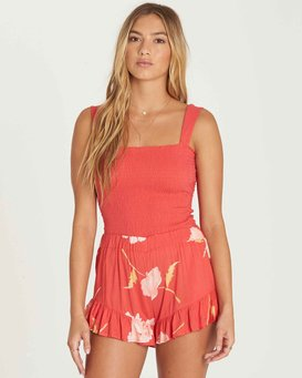 Sweet Dawn Highneck Bodysuit  J3KT05BIS8