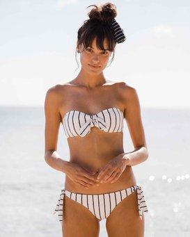 Flora Beat Bandeau Bikini Top  J3ST19BIS8