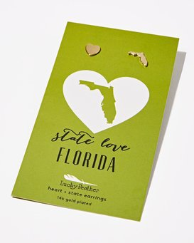 FLORIDA LOVE EARRING  JAJWXBFE
