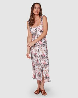 LOST PARADISO MIDI DRESS  JD80WBLO
