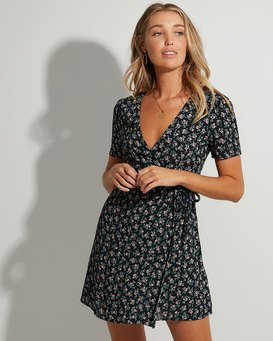 BLOOM WRAP DRESS  JD833BBL