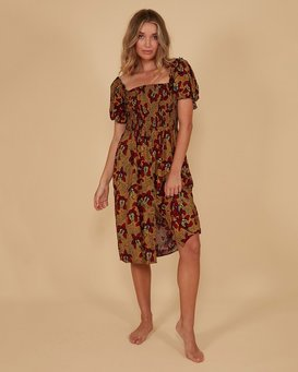 SUNBAKED MIDI DRESS  JD871BSU