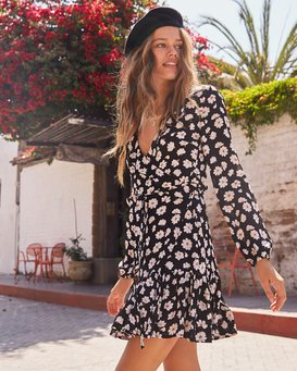 MARGHERITA WRAP DRESS  JD93TBMA