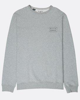 Die Cut Theme Crew Sweatshirt  L1CR06BIF8