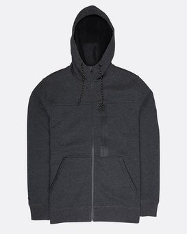 Quadrant Polar Fleece Dwr Zip Hoodie  L1FL24BIF8