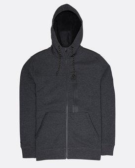 Quadrant Polar Fleece Dwr Zip Hoodie  L1FL24BIF8