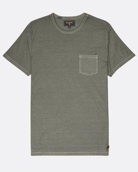 Stringer Yarn Dye Stripe T-Shirt  L1JE01BIF8