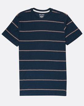 Die Cut Yarn Dye Stripe T-Shirt  L1JE03BIF8