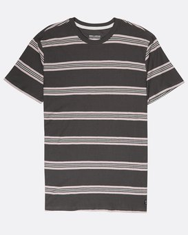 Die Cut Yarn Dye Stripe T-Shirt  L1JE03BIF8