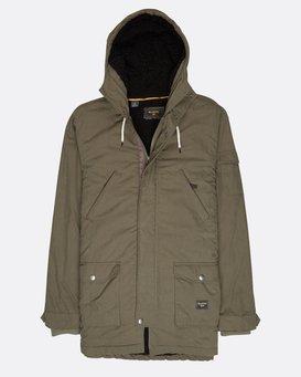 Stafford Dwr Warm Parka Jacket  L1JK19BIF8