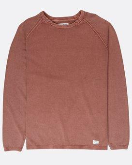 Wave Washed Raglan Sweater  L1JP02BIF8