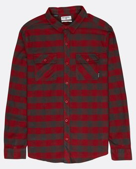All Day Flannel Long Sleeve Shirt  L1SH01BIF8