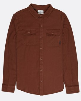 All Day Flannel Long Sleeve Shirt  L1SH01BIF8