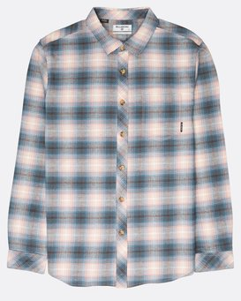 Coastline Flannel Shirt  L1SH04BIF8