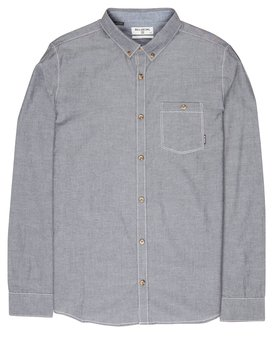All Day Chambray Long Sleeve Shirt  L1SH09BIF8